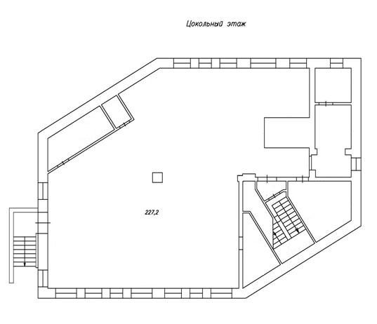 план цокольного этажа дц норд фото