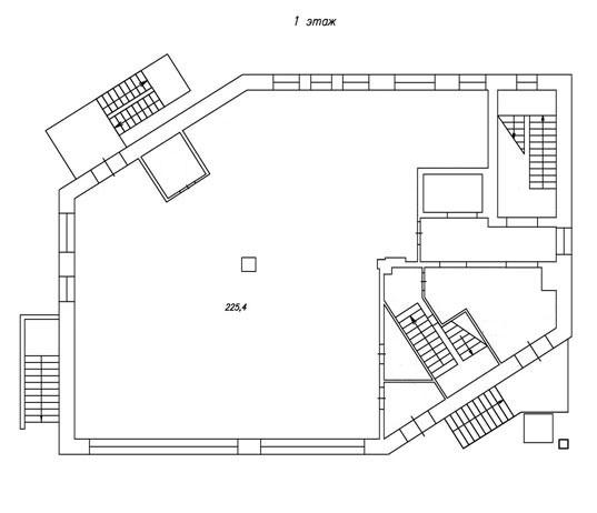 план 1-го этажа бц норд фото