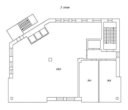 план 3-го этажа бц норд фото