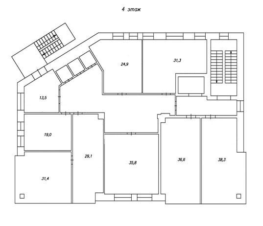 план 4-го этажа бц норд фото