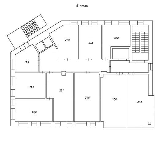 план 5-го этажа бц норд фото