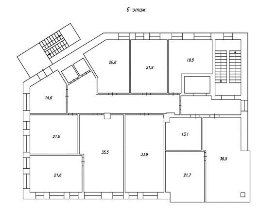 план 6-го этажа бц норд фото